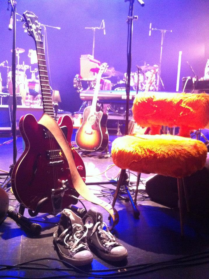 6LEXIC - Scène Avant concert -