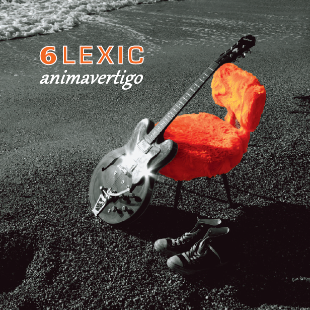 Album animavertigo de 6lexic - André Rossi (interprète auteur compositeur ) Lison Steger (intrerprète, compositrice) Aurélien Régis-Recous (batteur)